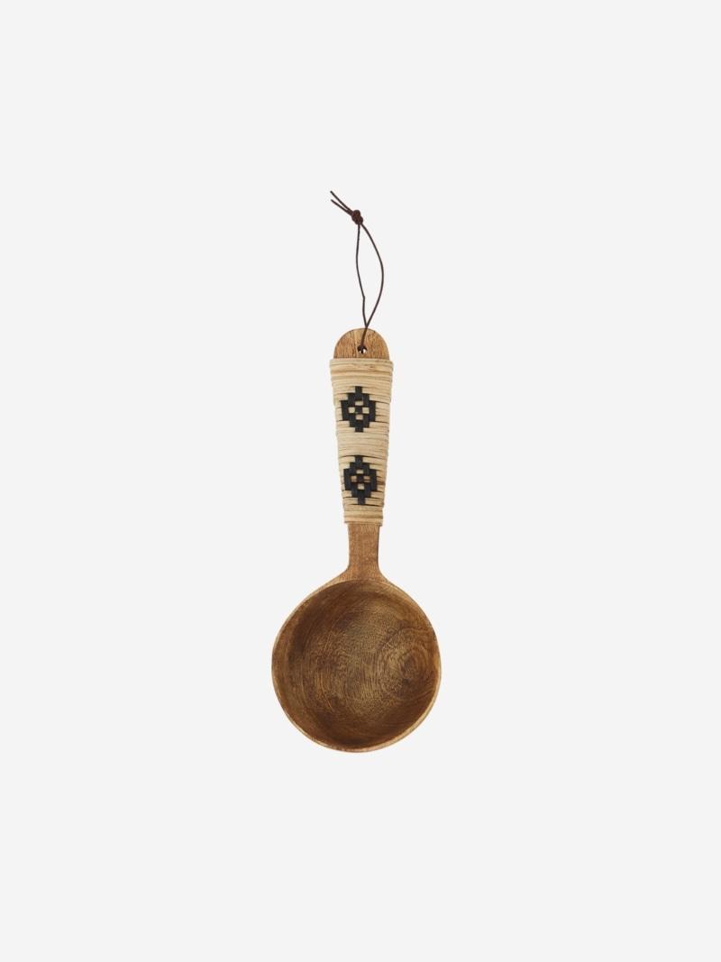 Cuchara de servir Yute, de madera