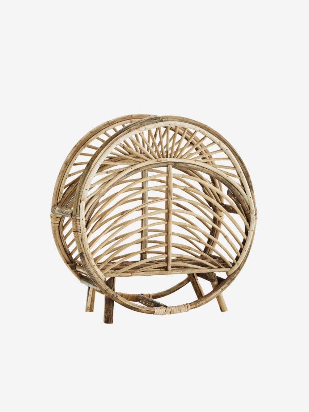 Revistero Wooden de bamboo