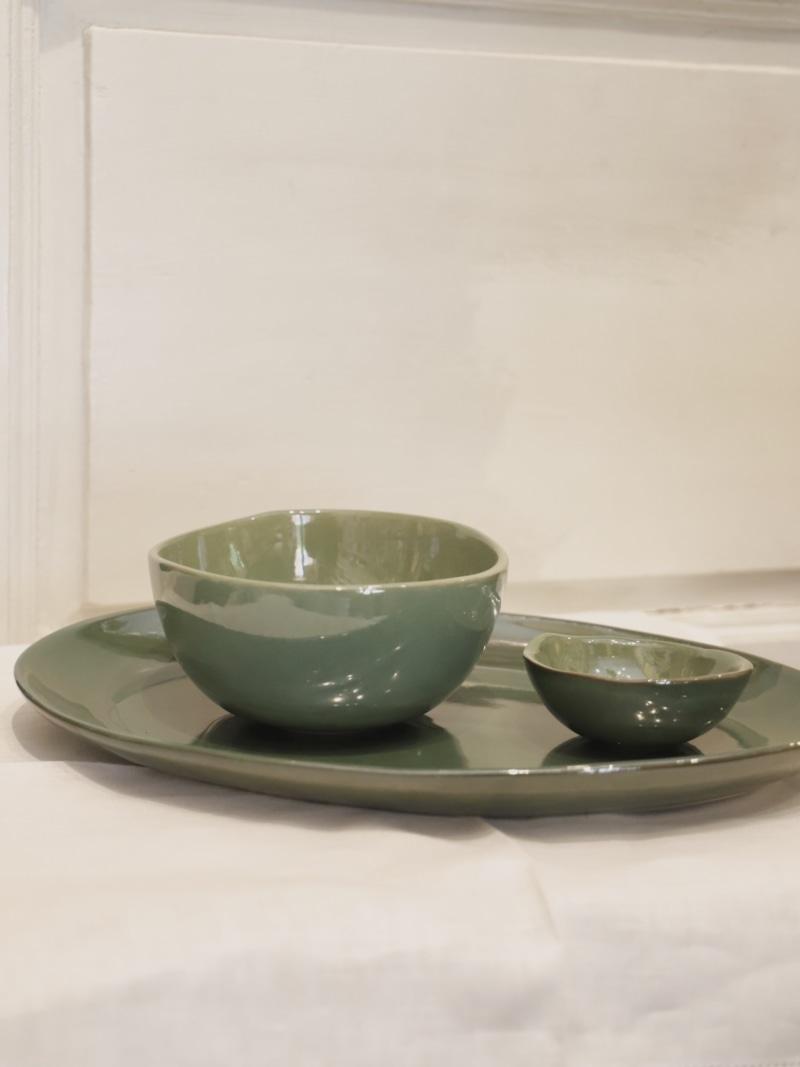 Conjunto Mirze Green, menaje de cocina