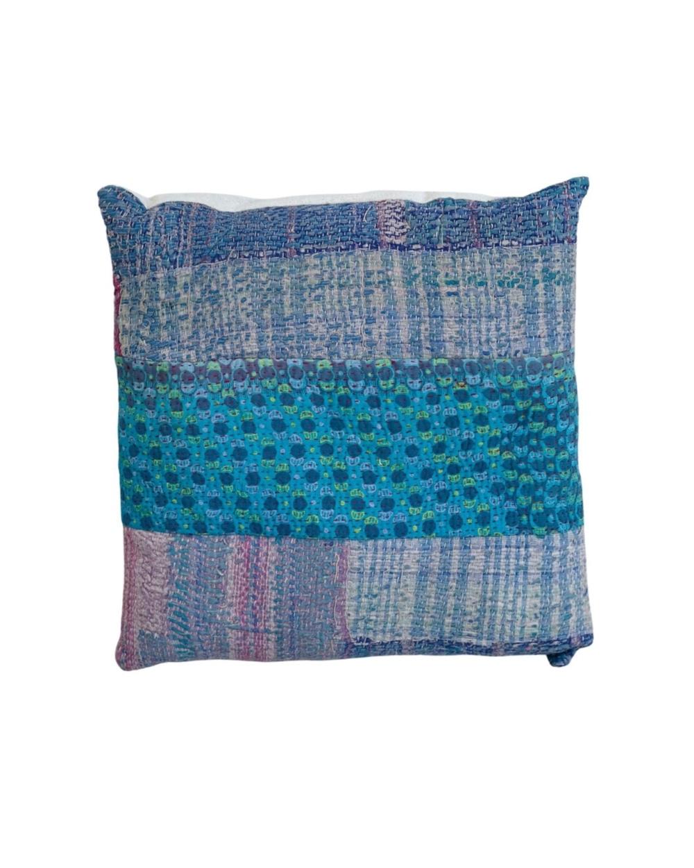 Cojín Grudi 39 con tonos azules